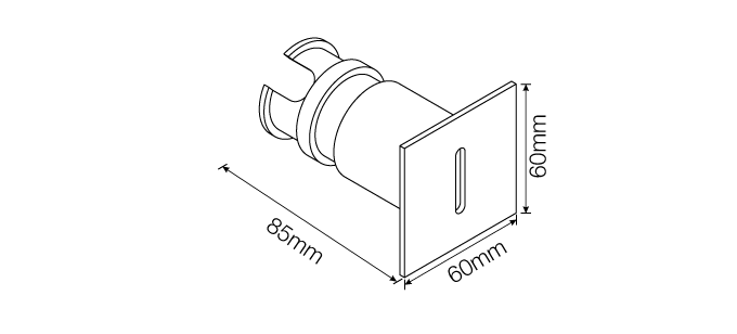 Neso Step Light - Round Square 1*5W
